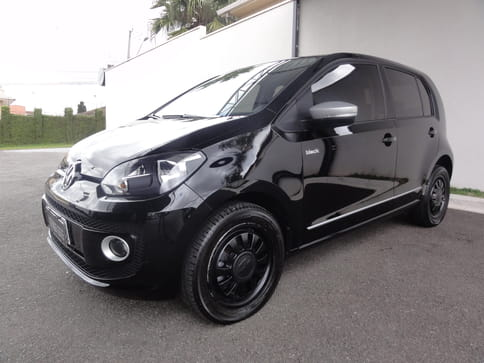 VOLKSWAGEN UP! BLACK WHITE RED 1.0L MPI TOTAL FLEX MEC.4P