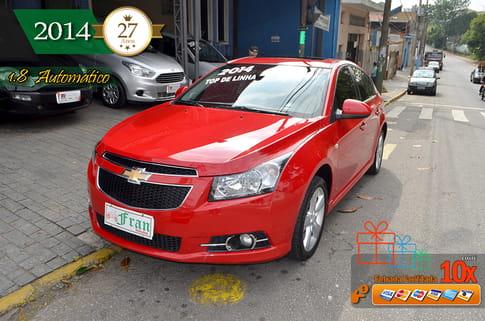 CRUZE 1.8 LTZ 16V FLEX 4P AUTOMÁTICO 2014 FLEX