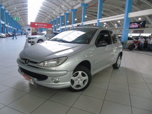 PEUGEOT 206 HATCH MOONLIGHT 1.4 8v(Flex) 2p