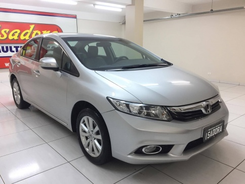 HONDA CIVIC LXR 2.0 FLEXONE 16V AUT.