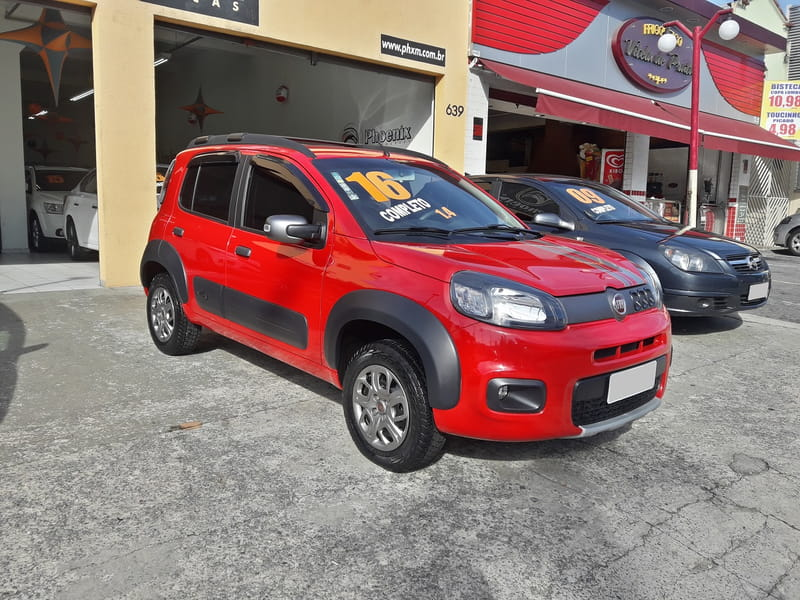FIAT UNO EVO WAY 1.4 8V ETA/GAS (NAC) 4P