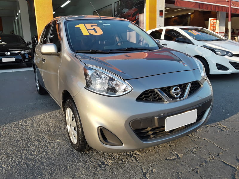 NISSAN MARCH S 1.0 16V FLEX MEC.