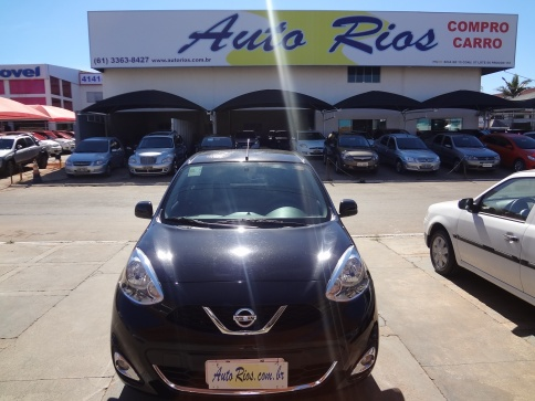 NISSAN MARCH SV 1.6 16V FLEX FUEL 5P