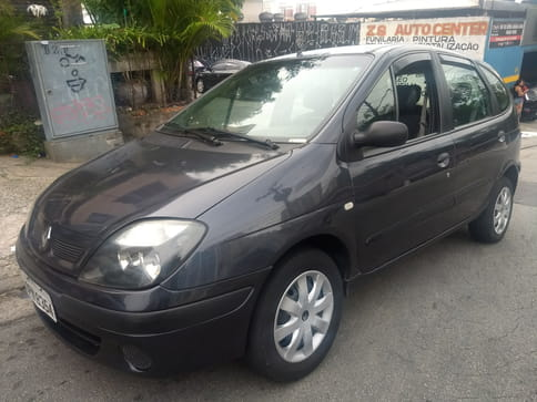 RENAULT SCENIC AUTHENTIQUE 1.6 16v(Hi-Flex) 4p