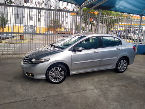 HONDA CITY 1.5 LX 16V FLEX 4P AUT