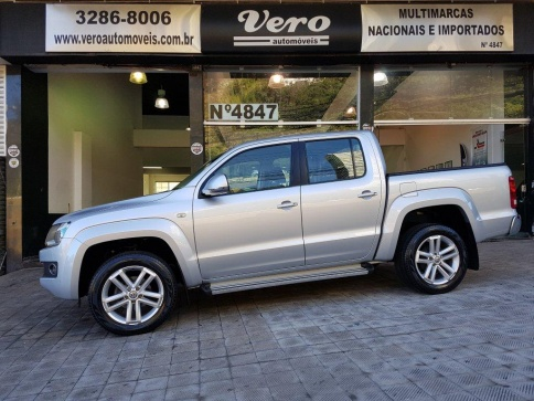 VOLKSWAGEN AMAROK HIGHLINE CD 4X4 2.0 16V TURBO INTERCOOLER AUT.