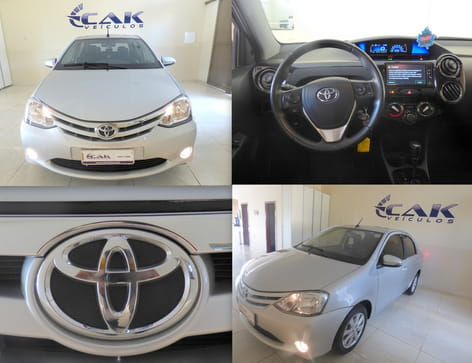 TOYOTA ETIOS 1.5 XLS SEDAN 16V FLEX AUT